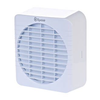 Xpelair GXC6 30W Kitchen Fan 1102D Plastic. White fascia with square external grille and pullcord. Purpose designed for use in kitchens and can be wall or window mounted. Trickle ventilation available when not in use. Fan, fixings and  http://www.MightGet.com/january-2017-13/xpelair-gxc6-30w-kitchen-fan-1102d.asp