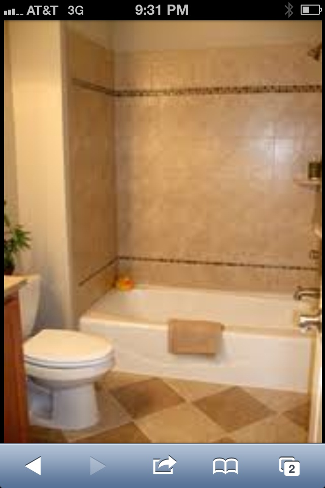 Tile tub surround shower tiles pinterest bathroom bathroom tubs and photos - Tile shower surround ideas ...