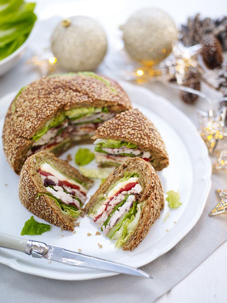 ... Sandwich Loaf on Pinterest | Bread Food, Sandwich Cake and Breads