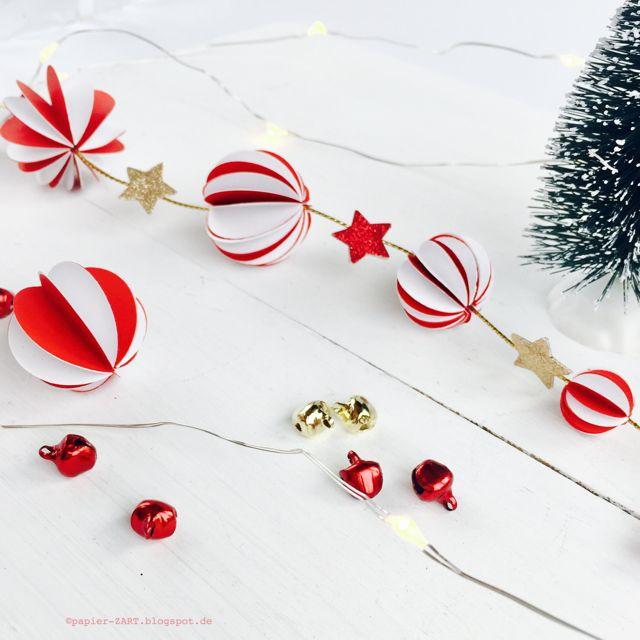 25 einzigartige papier weihnachtsschmuck ideen auf. Black Bedroom Furniture Sets. Home Design Ideas