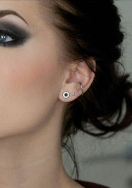 16 Most Popular Ear Piercings Designs For Women