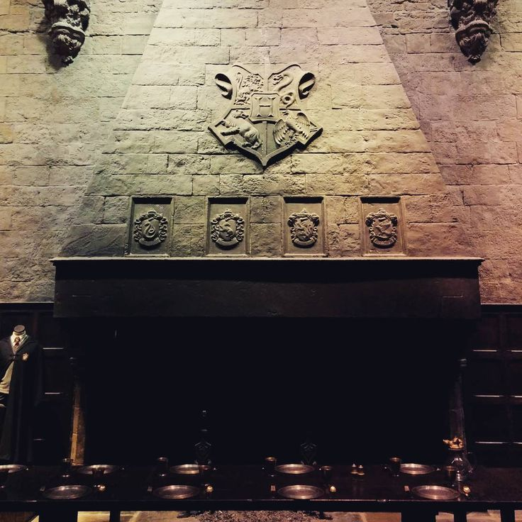 Oh, just hanging at the Great Hall at Hogwarts #harrypotter #hogwarts