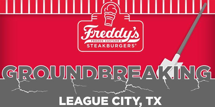 FREDDY'S FROZEN CUSTARD & STEAKBURGERS COMING SOON TO LEAGUE CITY