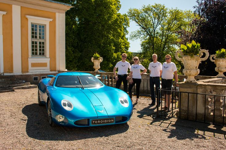 Team Toroidion. The Toroidion 1MW Concept took part in the Connoisseurs Motordag 2015.