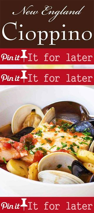 New England Cioppino 40 Mins To Cook Serves 6 New England Cioppino Seafood  Stew With Haddock. Casual Dinner PartiesJalapeno ...