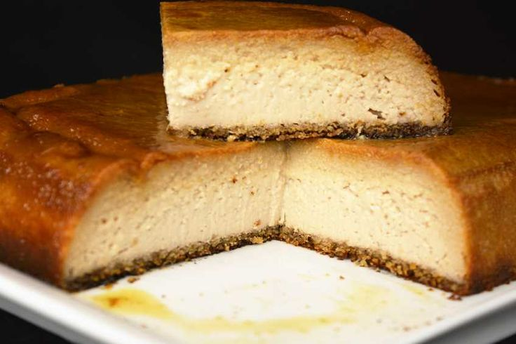 Este rico pudin de queso y nueces no va a dejar indiferente a nadie, tanto por su textura como por su sabor.