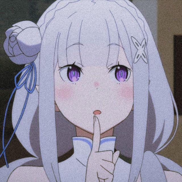rezero emilia emiliarezero anime waifu manga