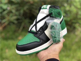 new product 891bc 6b06c Womens Casual Sneakers Nike Air Jordan 1 Retro High OG Pine Green GS  575441-302