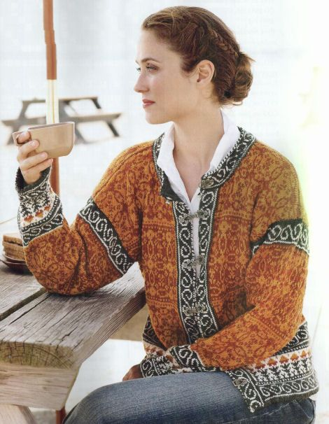 Fearless Fair Isle Knitting – Kathleen Taylor   Tichiro - knits and cats