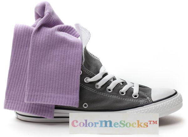 Velvet Purple by ColorMeSocks™