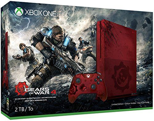 Xbox One S 2TB Console – Gears of War 4 Limited Edition Bundle  http://gamegearbuzz.com/xbox-one-s-2tb-console-gears-of-war-4-limited-edition-bundle/