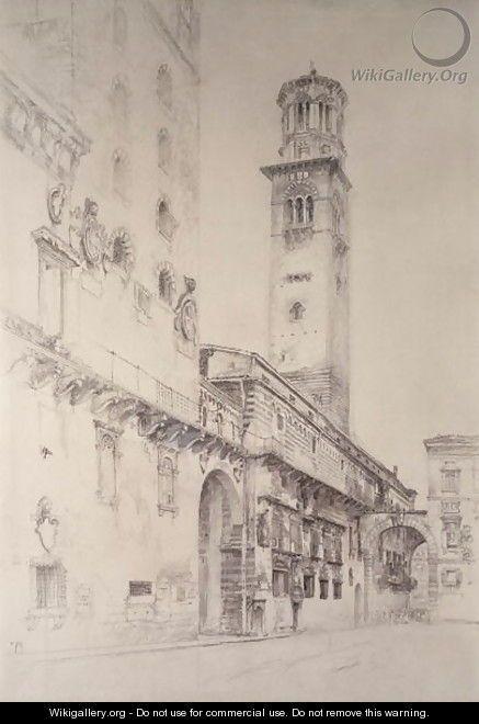 Piazza dei Signori, Verona - John Ruskin