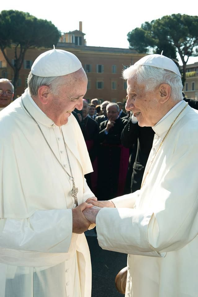 (Fri, Jul 05, 2013) Benedict XVI joins Pope Francis in consecrating Vatican to St Michael Archangel -- https://www.facebook.com/photo.php?fbid=592288840815709=a.592288467482413.1073741844.375882539123008=3