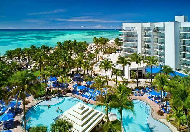 Aruba Hotel Exterior View