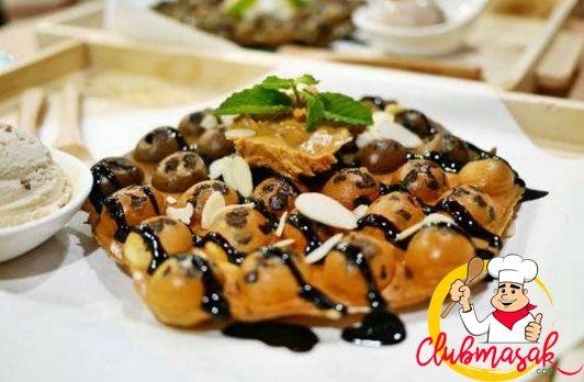 Resep Waffel, Resep Waffle Farah Quin, Club Masak