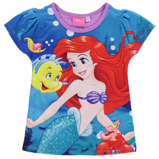 Lasten Disney Pieni Merenneito t-paita