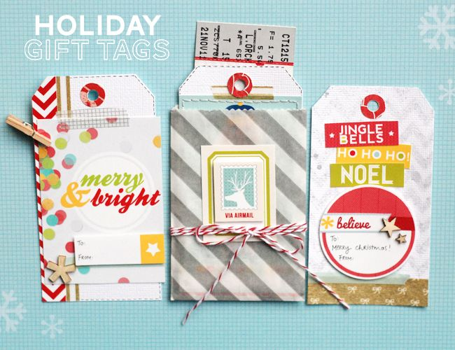 In a Creative Bubble: Holiday Gift Tags by Geralyn Sy
