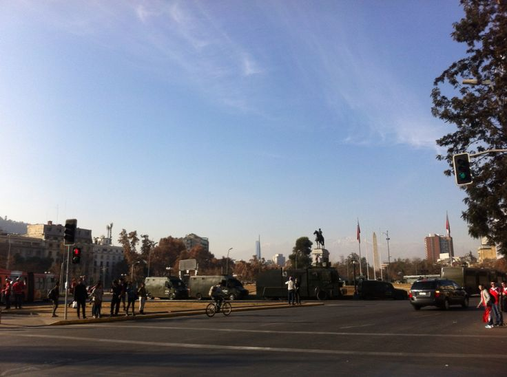 Plaza Italia. Santiago - Chile.