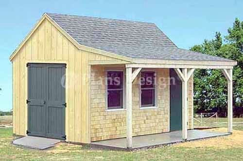 Cottage Shed - Chicken coop idea