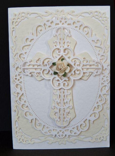 By Sandma. Spellbinders Cross