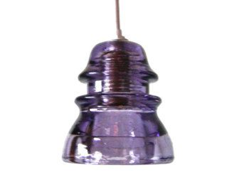 custom purple insulator light industrial pendant light pendant lighting purple glass pendant light plug in pendant