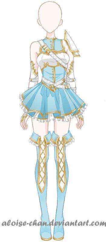 Tenue de Manga pour Fille ♥ J'adore ♥♥♥♥♥                                                                                                                                                                                 Plus