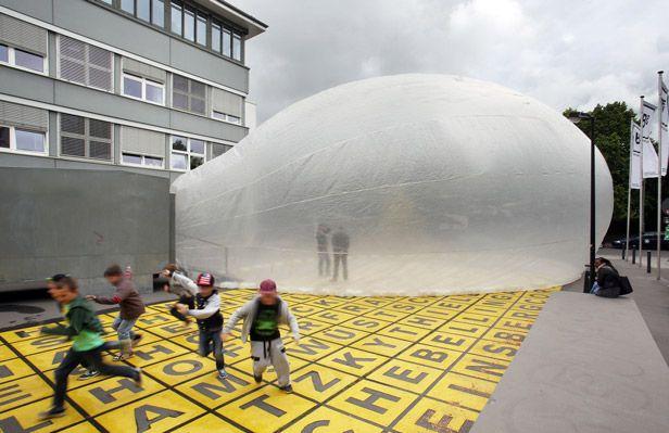 Keine Immobilienblase, sondern Begegnungsstätte (Foto©raumlaborberlin)