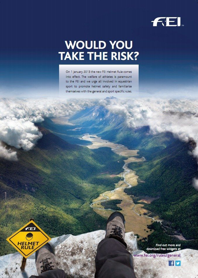 Please share! FEI LAUNCHES GLOBAL SAFETY HELMET CAMPAIGN. http://www.troxelhelmets.com/blog/troxel/fei-launches-global-safety-helmet-campaign#