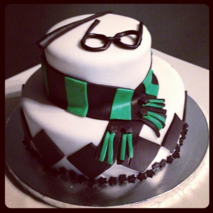 7 best Cake images on Pinterest Harry potter cakes Slytherin