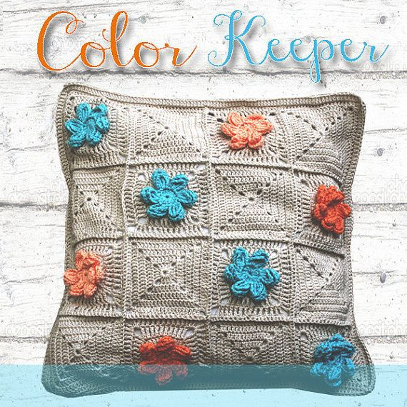 Crochet pillow case  #ColorKeeper - PDF Pattern (Instant Download)