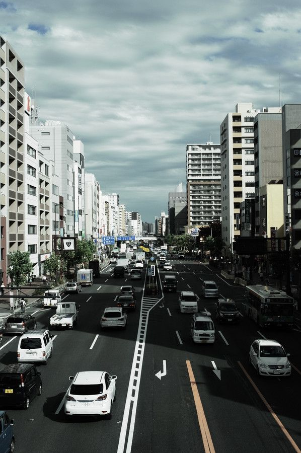 Japan National Route 14 2013/10/16 Tokyo by Fish_dive8965 on 500px