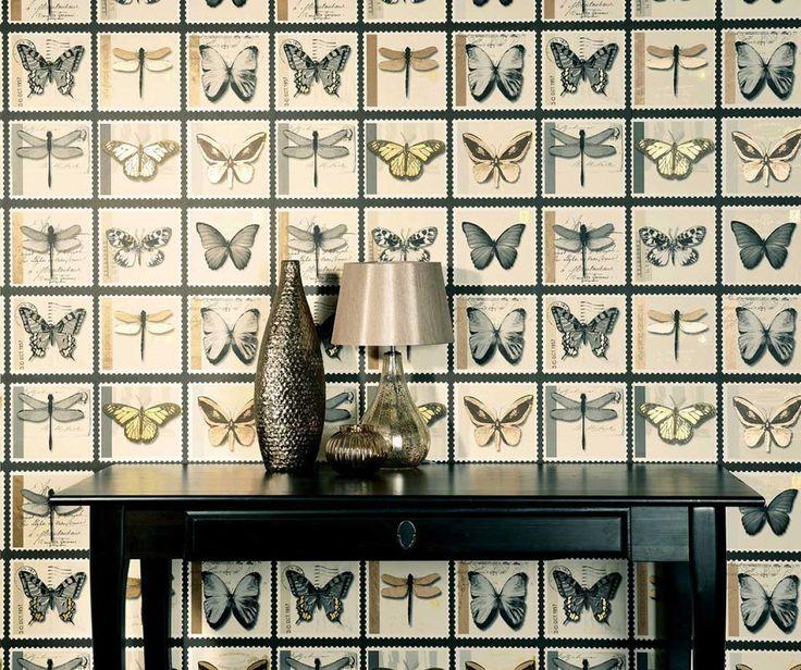 25 besten Tapeten Bilder auf Pinterest Tapeten, Steinwand und - fliesen tapete k che