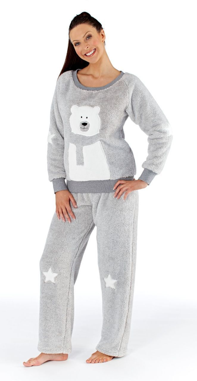 This adorable two piece pyjama set is the perfect pair to settle down in  after a 1faf23a97