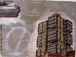 A Tower Block for Lowry (1994), by David Hepher