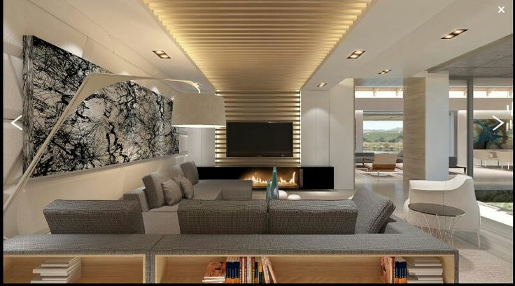 Modern Mansion With Perfect Interiors By Saota: Ceiling Treatment And Lighting And Layout. Saota & Okha