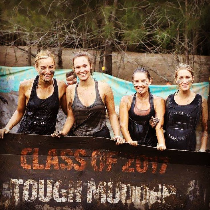 20 kilometers of mud and obstacles built to test your mental grit, camaraderie and all-around physical fitness? YES PLEASE! 💪🏼🤗#toughmudder2017 #teamworkmakesthedreamwork