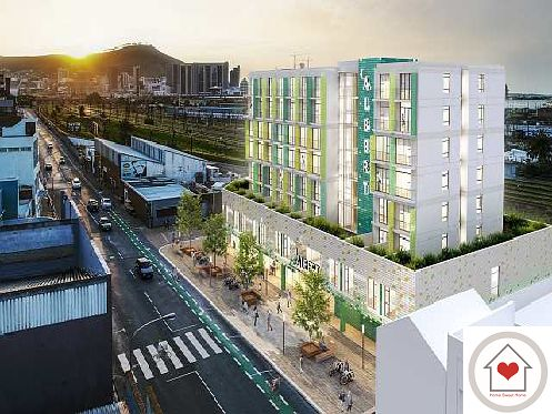 1 On Albert - high-end new apartment development in Woodstock for under R1m