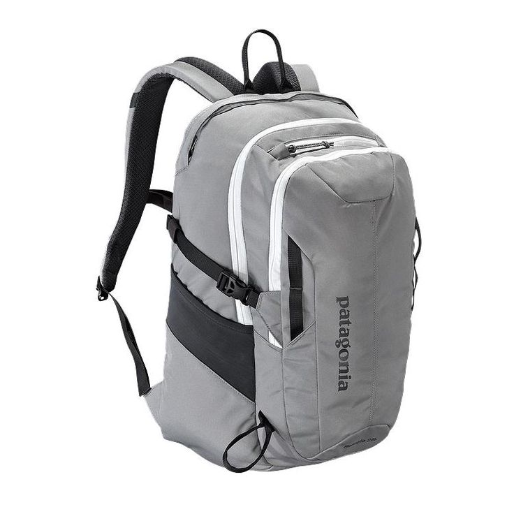 Patagonia Refugio backpack $89, also have others that might work, 28 L  This is my backpack for school 2015-2016!!