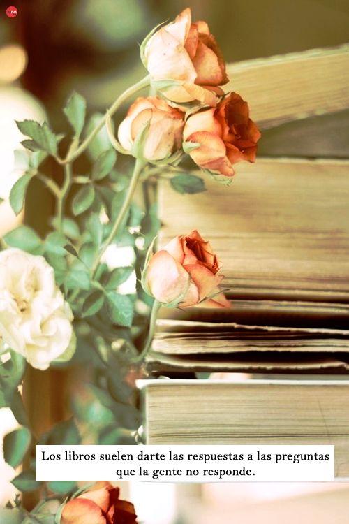 #Frases #Citas #Inspiración #Vida #Leer  #Libros #Rosa #Fotografía #Edición
