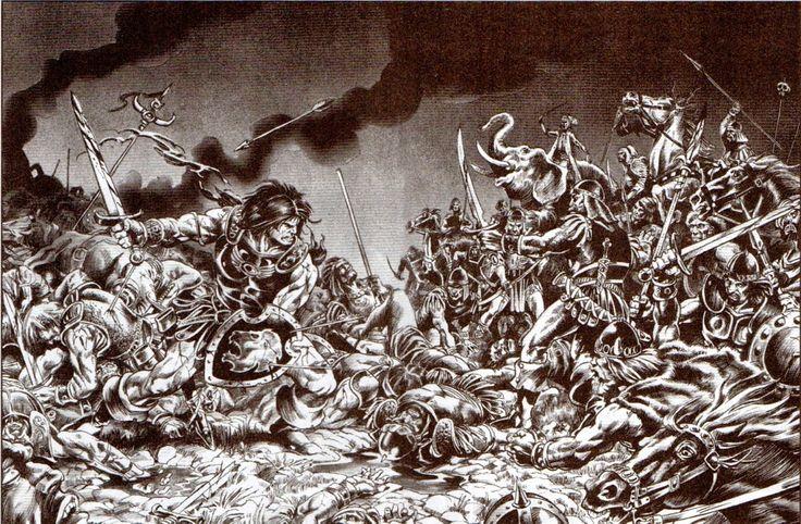 Frank Brunner:  King Conan