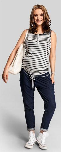 Flexie трикотажные брюки для беременных