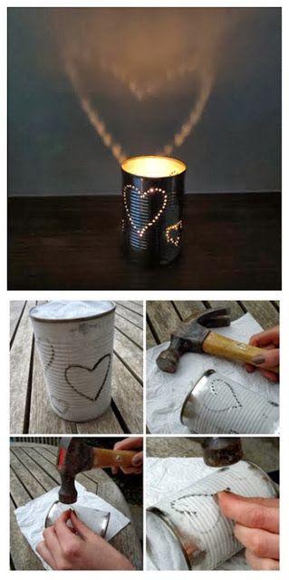 How to make tin lanterns | DIY & Crafts Tutorials