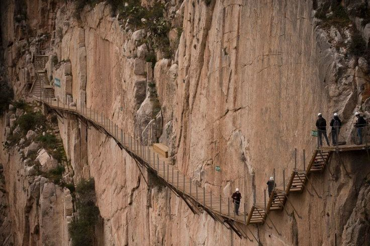 Caminito del Rey: the world's scariest footpath has reopened for summer http://www.telegraph.co.uk/travel/destinations/europe/spain/andalusia/articles/caminitio-del-rey-world-most-deadliest-foot-path/?utm_campaign=crowdfire&utm_content=crowdfire&utm_medium=social&utm_source=pinterest