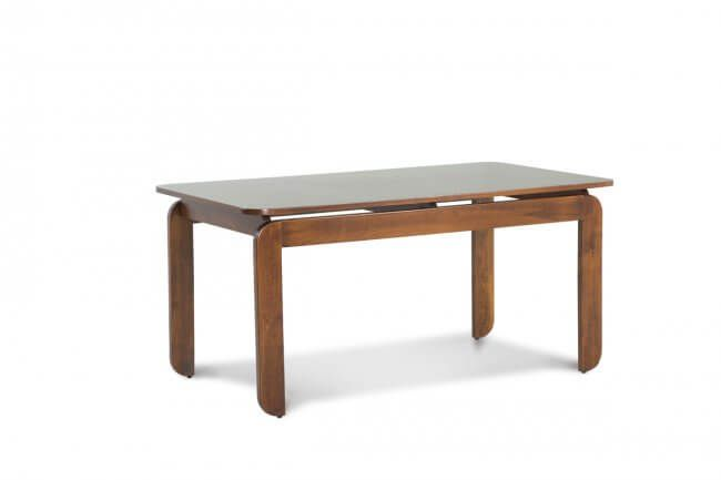 This Wooden Dining table from Ekbote Furniture is made with Beech Wood & commercial ply that has beech veneer on Both Sides. Made with High-Quality solid wood, This comes with one year warranty and after sales service.