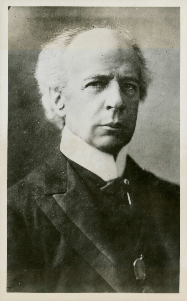 A portrait photograph of Sir Wilfrid Laurier taken during the 1917 federal election. Laurier served as Prime Minister of Canada from 1896 to 1911. As opposition leader during the war, he generally supported the government, but refused to support conscription which he believed unwarranted and needlessly divisive. Laurier's Liberal party fought the bitter 1917 election on this issue, but were defeated by Sir Robert Borden's Unionist coalition.