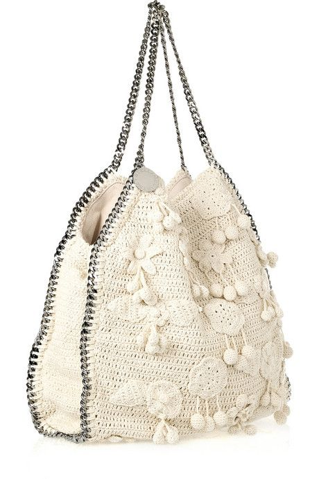 Stella McCartney Falabella Large crocheted bag