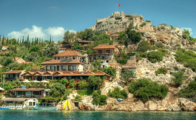 Simena castle Turkey