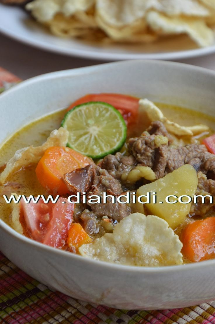 Diah Didi's Kitchen: Soto Betawi Daging