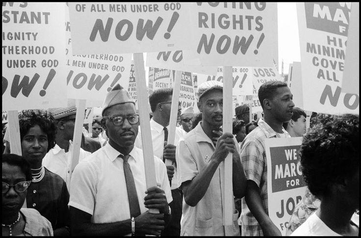 Leonard Freed, The March on Washington, USA, 1963.