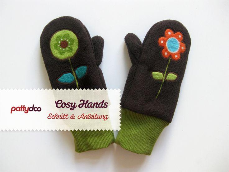 Warme Händchen: Kinderhandschuhe Nähanleitung und Schnittmuster